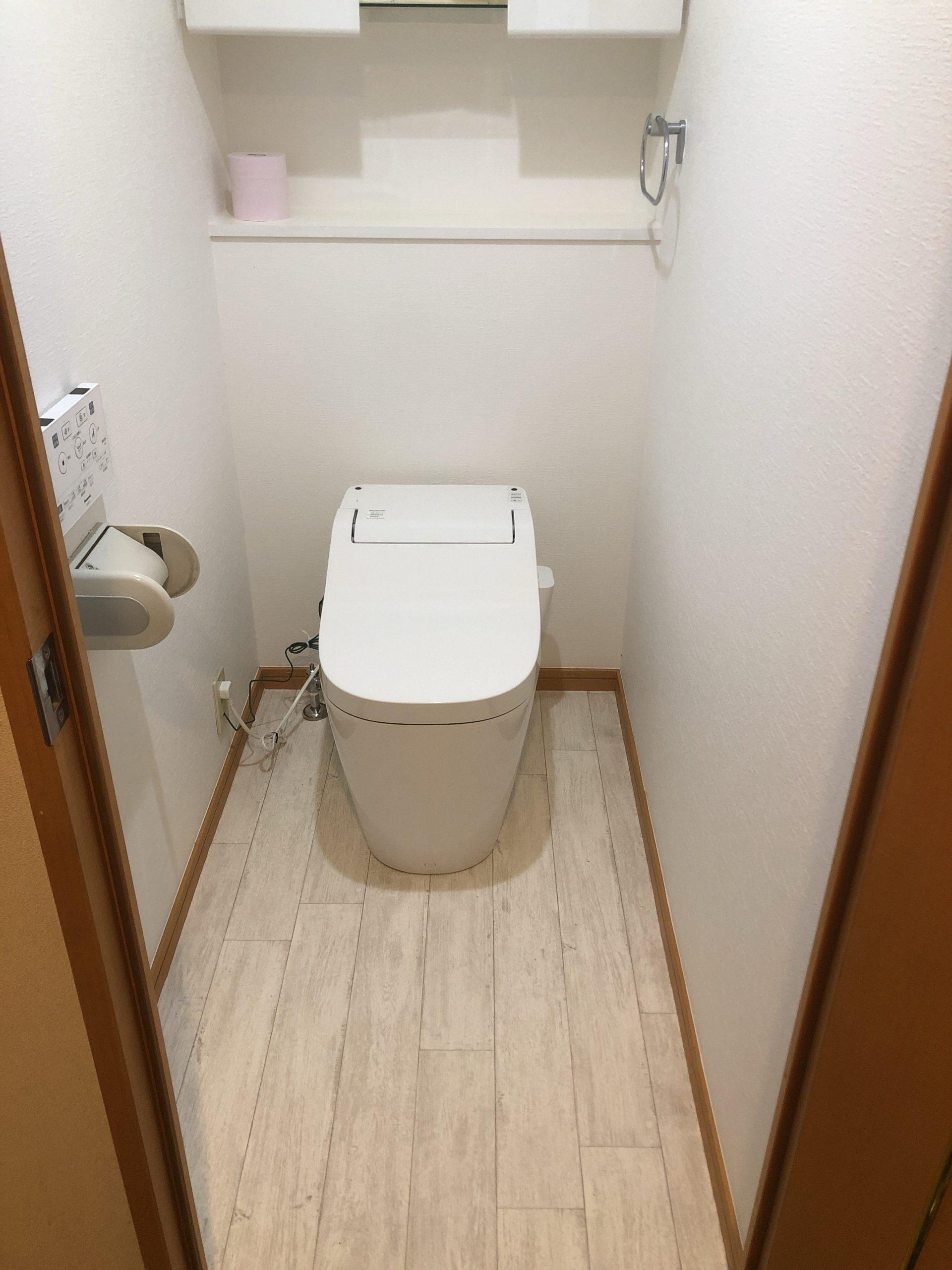 トイレ・クロス・クッションフロア工事 | 福岡市博多区・南区・中央区・春日市
