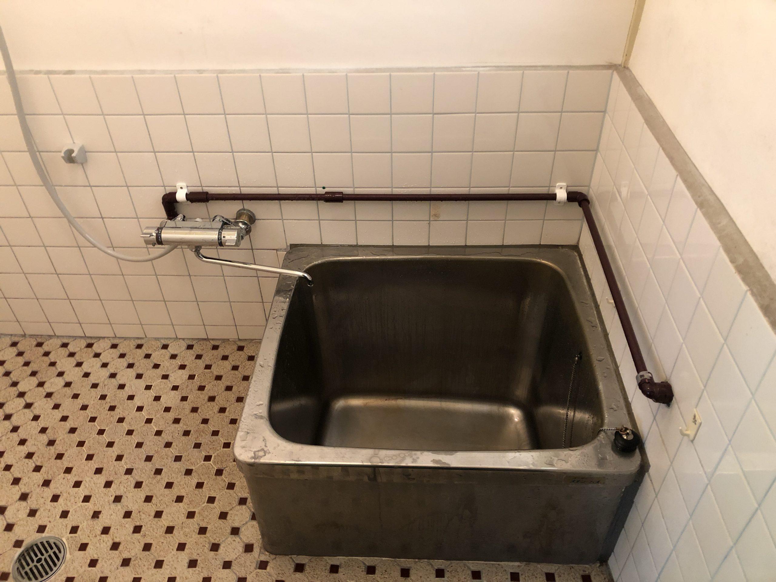浴室シャワー水栓取付工事| 福岡市博多区・南区・中央区・春日市